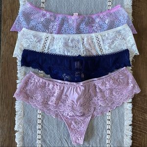 Victoria's Secret Very Sexy Thong Bundle NEW